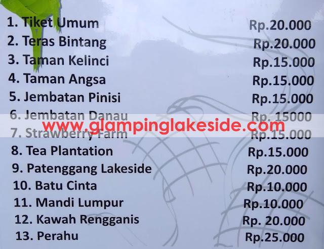 Glamping Lakeside Rancabali Tiket Masuk update 2019