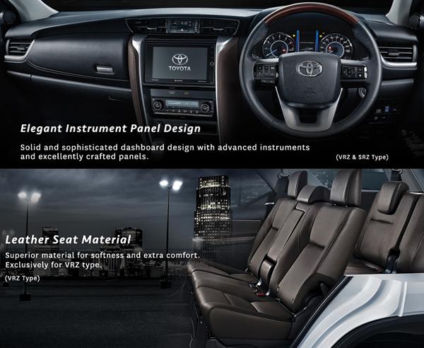 Kelebihan Fitur Interior Toyota All New Fortuner 2016