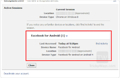 How to Logout of All Devices on Facebook