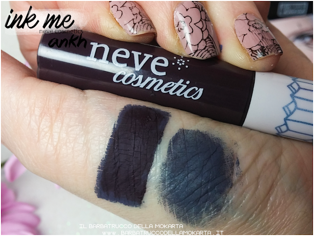 ANKH SWATCHES INKME EYELINER NEVE COSMETICS REVIEW RECENSIONE