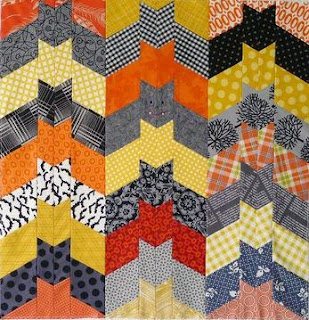 that cat quilt halloween version 29 x 32 free pattern by pamela lincoln for mccalls quilting pdf download