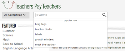 Brag tags are a popular search item on TpT right now!