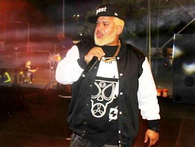 Foto de Franco El Gorila en el escenario