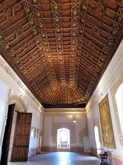 Castillo de Belmonte, Salón de audiencias