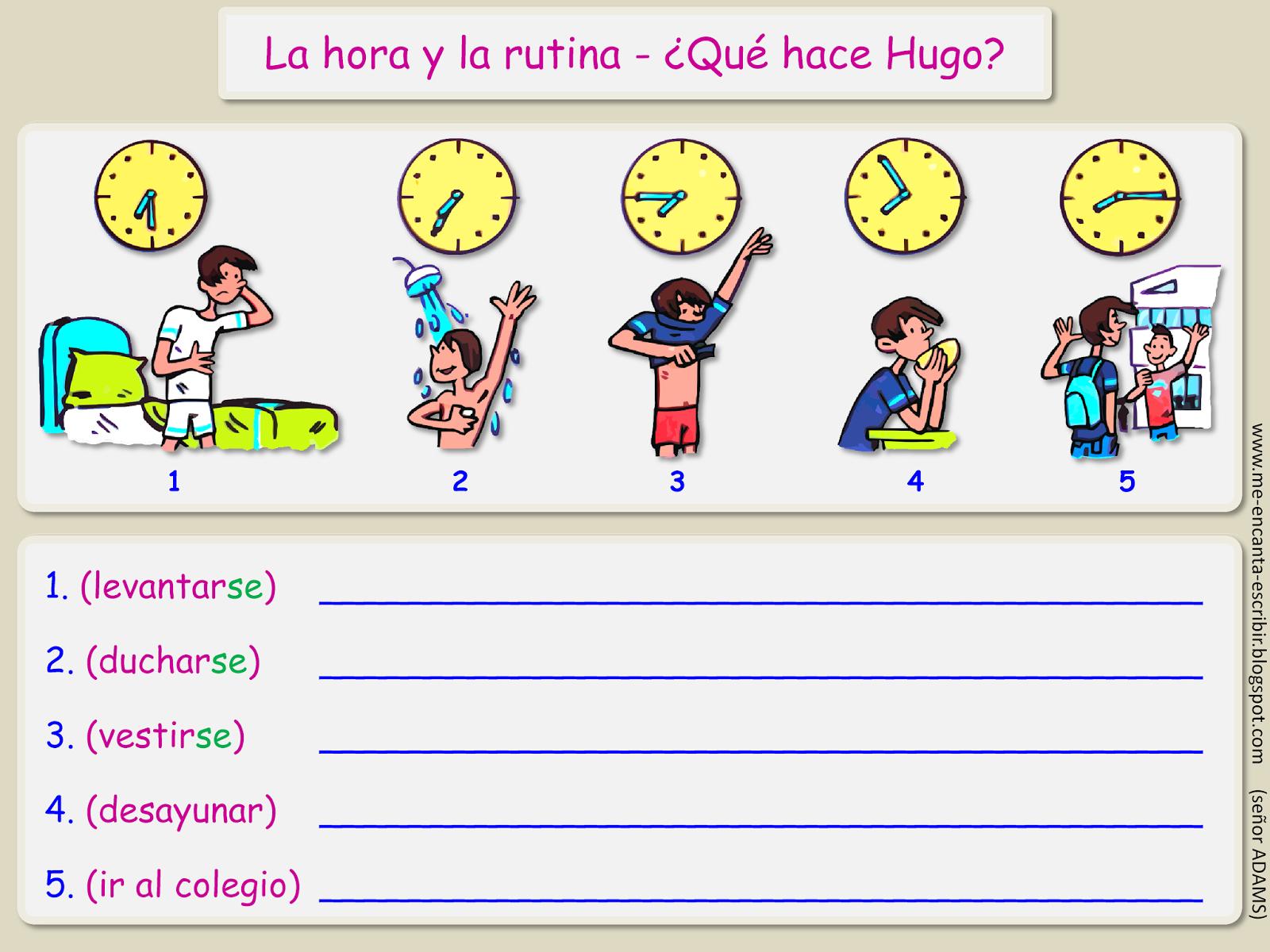 Me Encanta Escribir En Espanol Que Hace Hugo