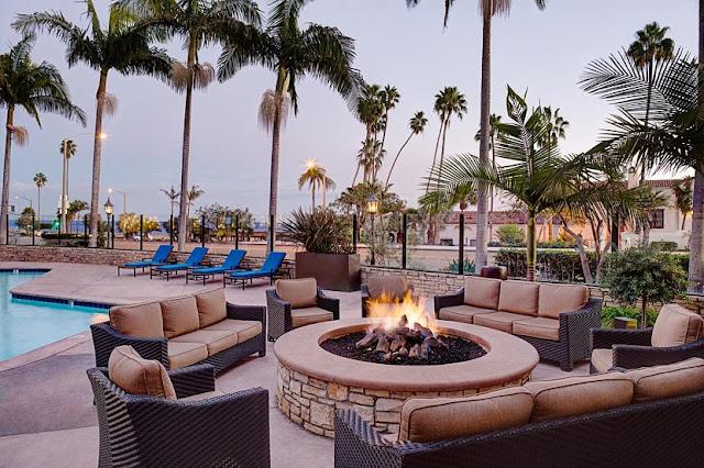 Hotel Hyatt Santa Bárbara em Santa Bárbara na Califórnia