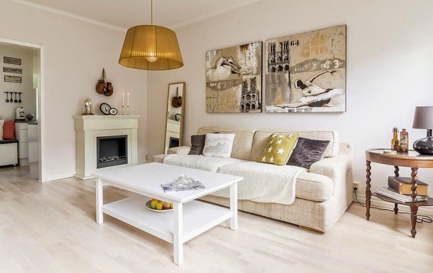 Hogares frescos c lido dise o interior de un hogar en suecia - Paginas de decoracion de casas ...
