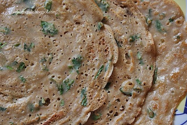 Lacy wheat/godambu dosa