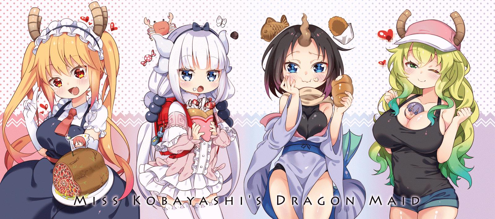 Kobayashi-san Chi no Maid Dragon Sub Indo : Episode 1-13 END