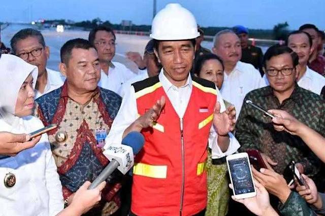 Menjelang Pemilu 2019 ,  Jokowi Kebut Pembangunan Infrastruktur