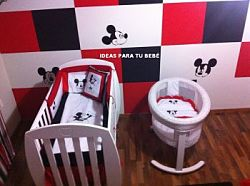 Decoracion habitacion mickey