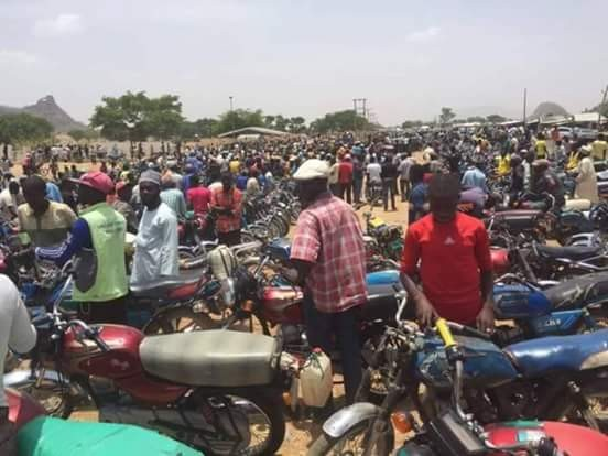 Bauchi state Fuel situation today. photos