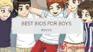 Instagram Bio Ideas With Emoji For Boys