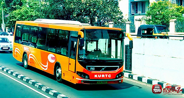 Kurtc A C Lowfloor Buses From Ernakulam To Trivandrum