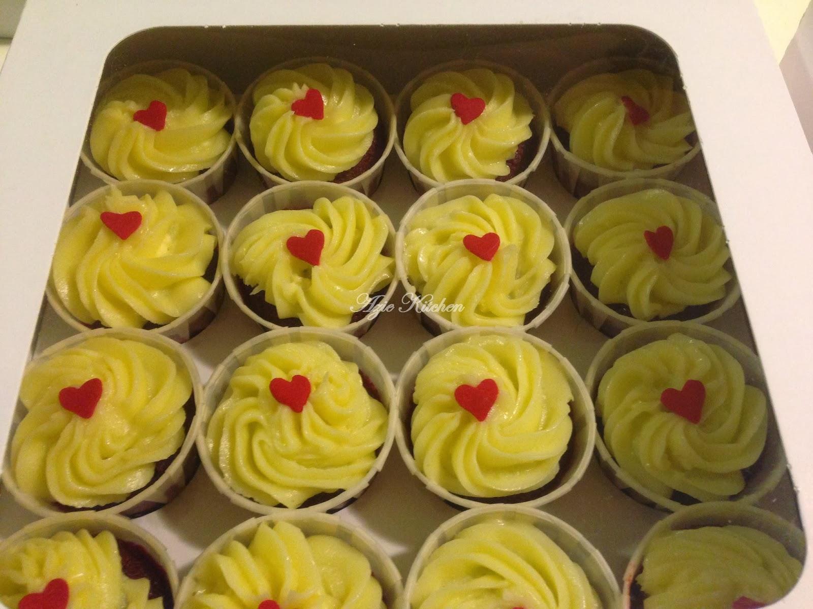 Tempahan Red Velvet Cupcake