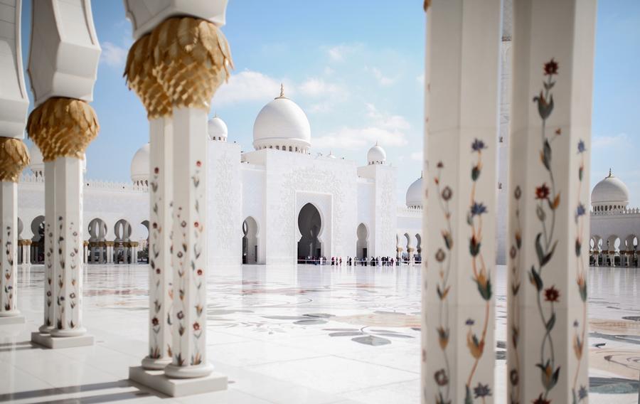 kultur beten moschee uae