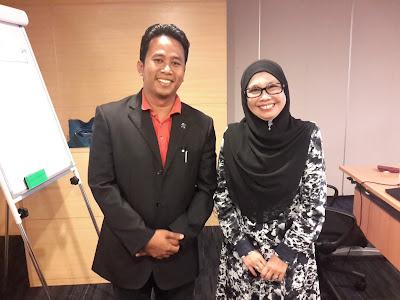 Bersama Hjh Fatimah Nor di Kuliah IFP, IBFIM MALAYSIA