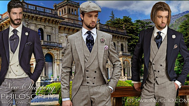 OTTAVIO NUCCIO GALA, Especial Novios, Bodas 2015, trajes de novio, ceremonia, Etiqueta, Suits and Shirts, Made in Italy, Black Tie, gentleman,
