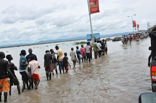 Flood  rended Over 110,000 people homeless  in Makurdi