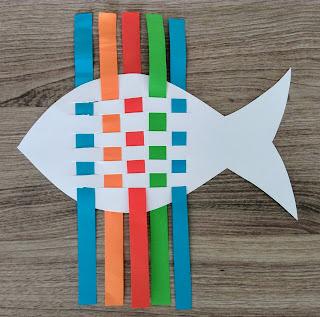 Φτιάχνουμε χρωματιστά ψαράκια