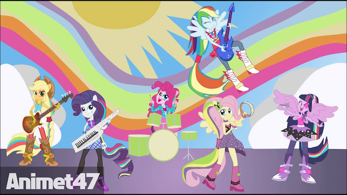 Ảnh trong phim My Little Pony Equestria Girls: Rainbow Rocks 1