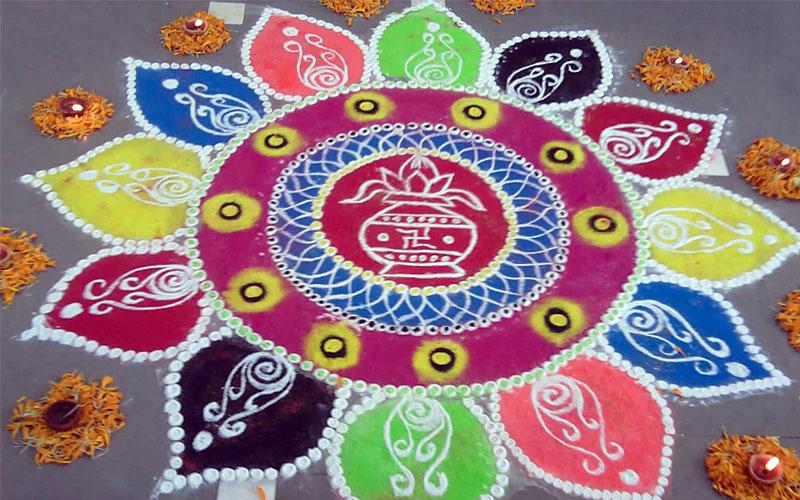 Diwali Rangoli Design 2018