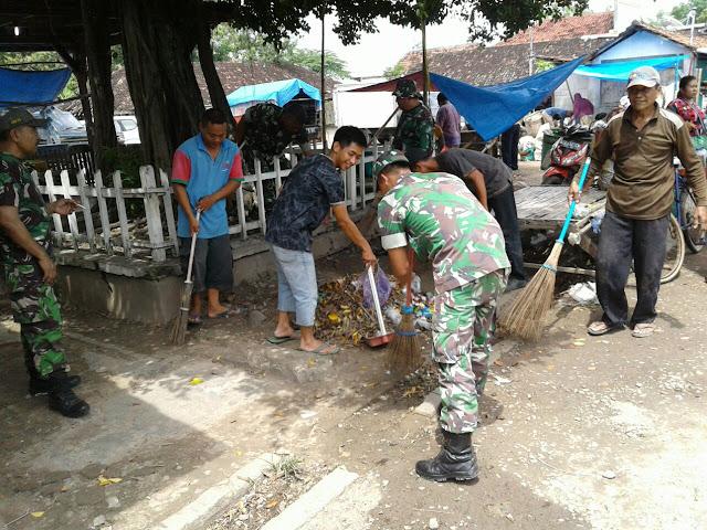 Pasar Sumberejo Jaken, Diserbu Sejumlah Anggota TNI