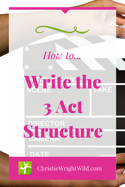 How to Write a 3-Act Structure || storyline | writing craft | problems and conflict in stories