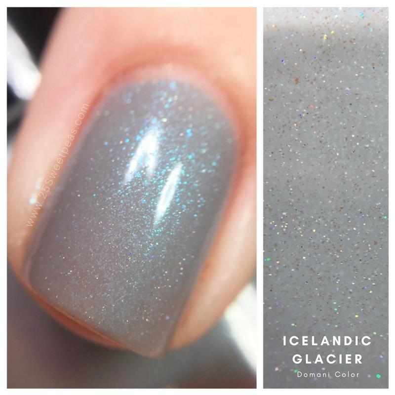 Domani Color Icelandic Glacier