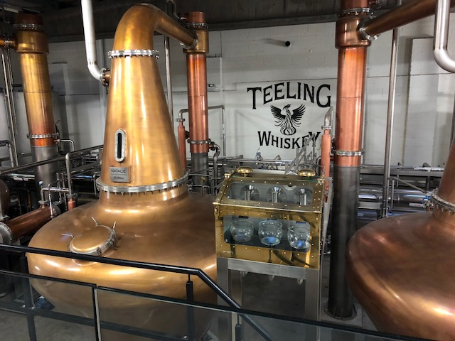 Teeling Distillery tour