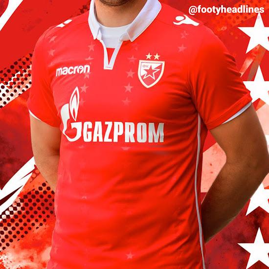 Bespoke Red Star Belgrade 18-19 Third Kit Released - Footy Headlines fd026e16d
