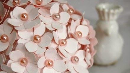 Cara Membuat Kerajinan Tangan Dari Kertas, Bunga Kertas 5