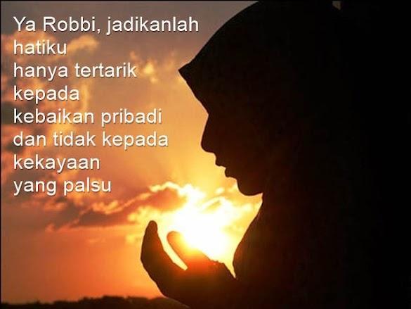 Gambar Dan Kata Kata Berdoa Terbaru