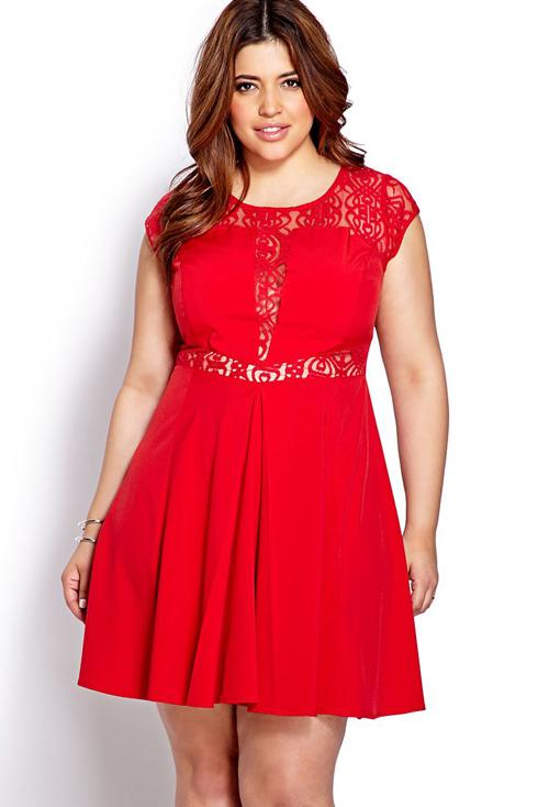Vestidos Rojos Para Gorditas Solo Para Gorditas