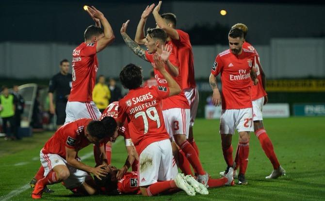 Blogs A festa do golo do Benfica