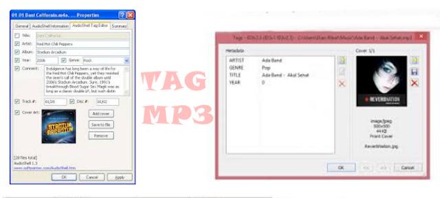 Cara Mudah Mengedit/Mengganti Tag MP3