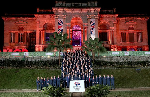 British Princess Anne and Sebastian Coe attend the Team GB British House Reception - 2016 Summer Olympic Games