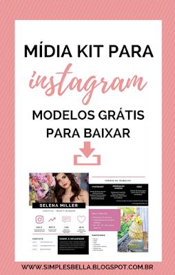 Como criar um Mídia Kit profissional para o seu Instagram