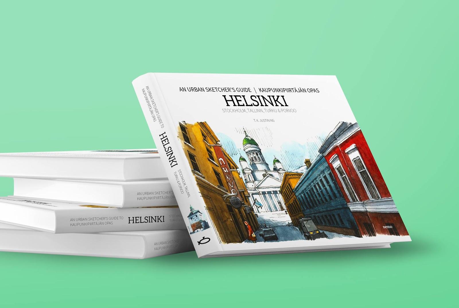 Internship In Helsinki Leads To Sketching Adventure Book Deal