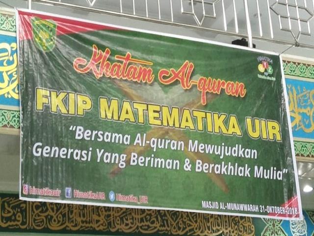 Spanduk Khatam Al Quran - desain spanduk keren