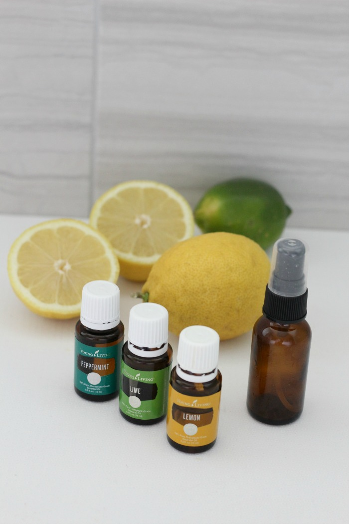 This easy DIY room freshening spray smells just like spring!