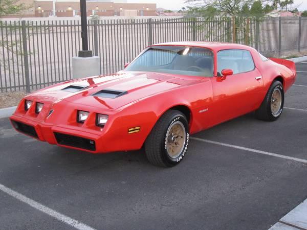Rare 1980 Pontiac Firebird Formula WS6