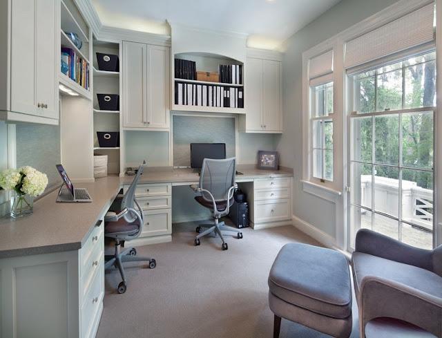 best custom home office desk with doors design online