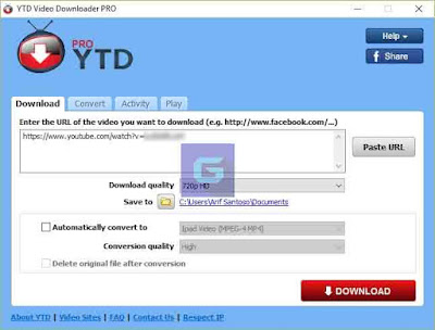 YTD youtube downloader pro full version