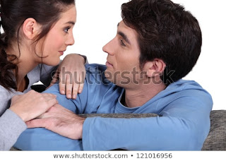 Boyfriend with girlfriend