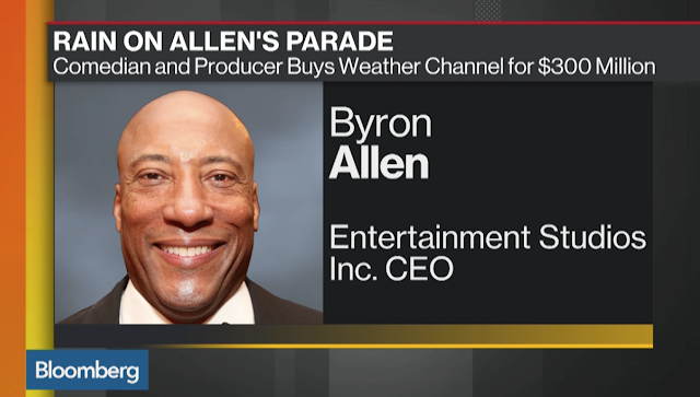 Comedian Byron Allen Buying The Weather Channel