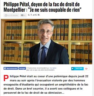 http://www.midilibre.fr/2018/03/24/le-doyen-de-la-faculte-de-droit-de-montpellier-philippe-petel-demissionne,1645503.php
