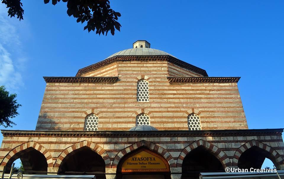 ayasofya hürrem sultan hamamı soyunma kabinleri iç mekan tasarımı urban creatives fotoğraf resim photograph