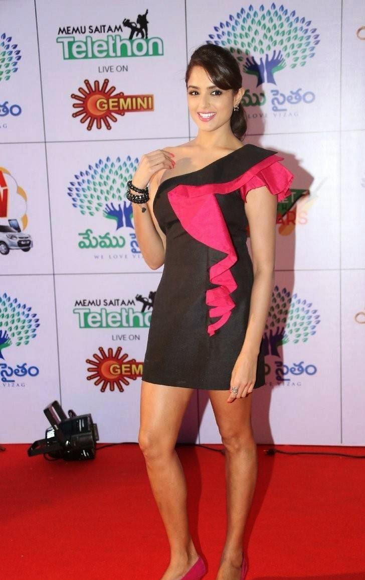 High Quality Asmita Sood Pics, Asmita Sood Sexy Photos in Hot Black Dress Without sleeve