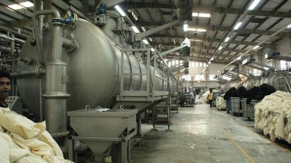 Dyeing factory in Bangladesh
